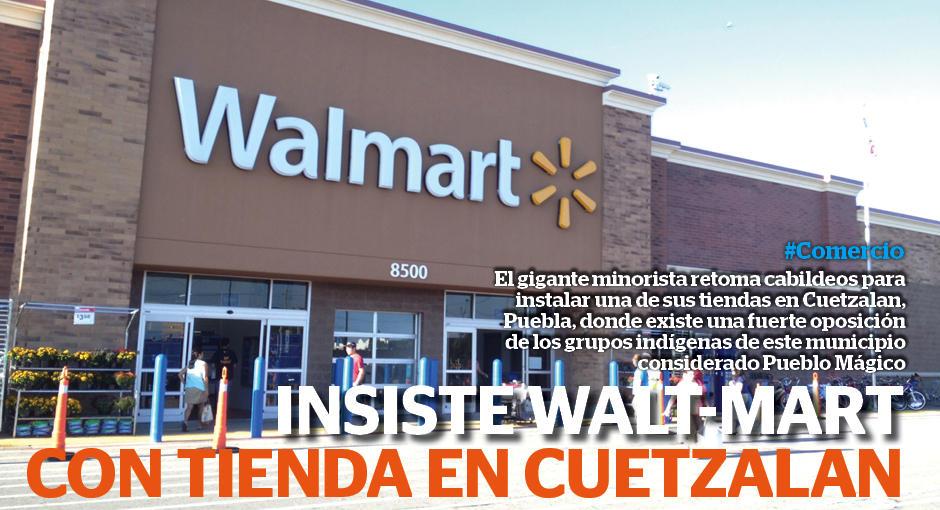 Conspiraciones y Noticias Actuales  Insiste Wal-Mart con tienda en ... f03d59cf6a3