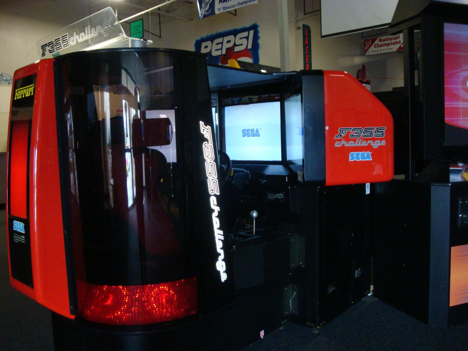 borne arcade f355 challenge