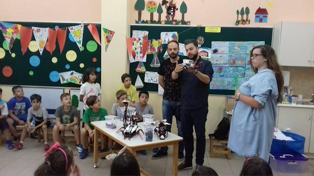 Εκπαιδευτική ρομποτική για τα παιδιά της «Κατασκήνωσης στην Πόλη»