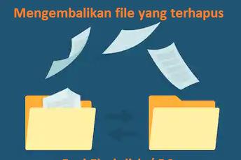 Cara Mengembalikan Data Yang terhapus dari Flashdisk/PC |  Wajib Coba