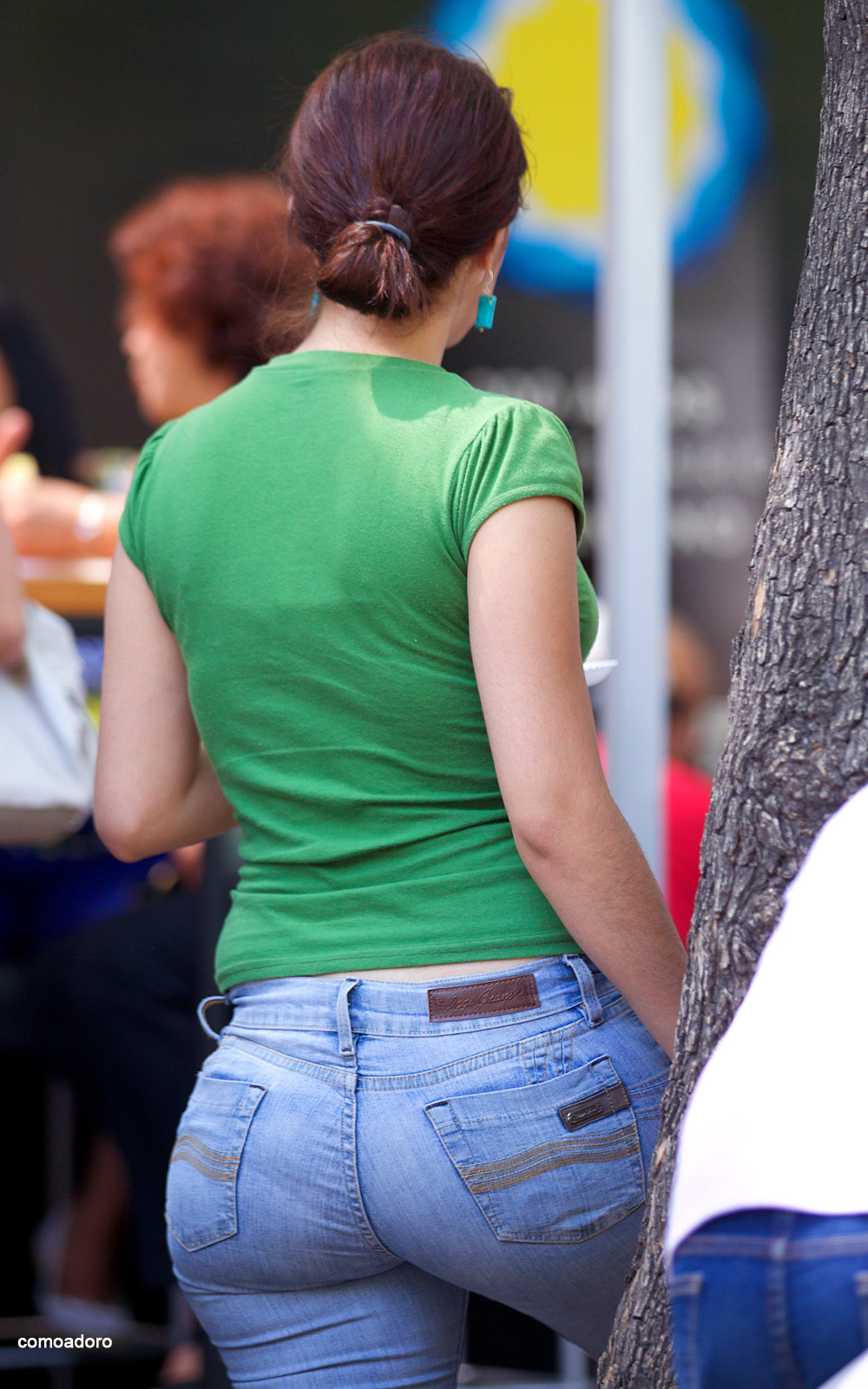 Perfect Bubble Butt Candid-8473