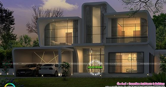 Villa In Melbourne Australia Kerala Home Design And