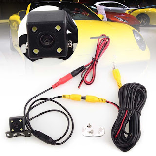 CCD Waterproof LED Night Vision Cars Rear view Backup Reverse Parking Camera MW