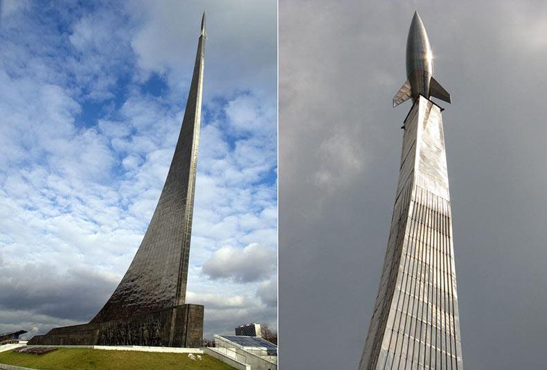 Monumento a los conquistadores del espacio   Rusia
