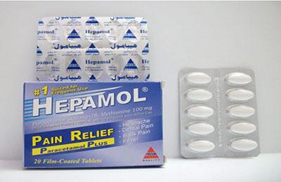 سعر ودواعى إستعمال أقراص هيبامول Hepamol مسكن