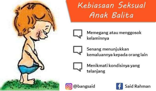 Kebiasaan Seksual Balita