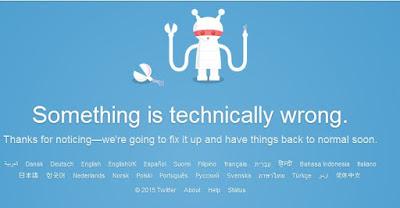 I broke twitter | www.BakingInATornado.com
