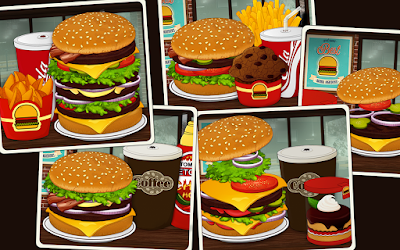 Game Burger Chef Cook Sim 2 Apk
