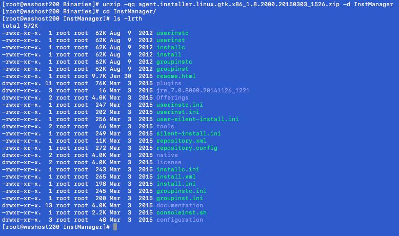 WebSphere Application Server: Installing IBM Installation
