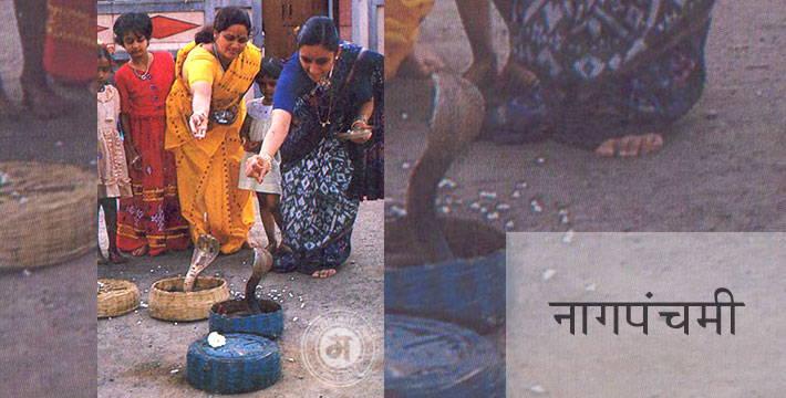 नागपंचमी - सण-उत्सव | Nag-Panchami - Festival