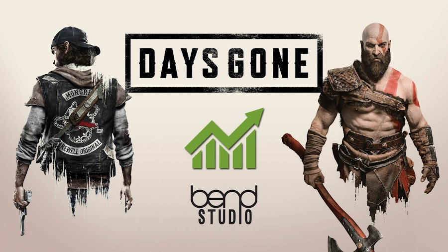 days gone sales tops god of war japan bend studio ps4