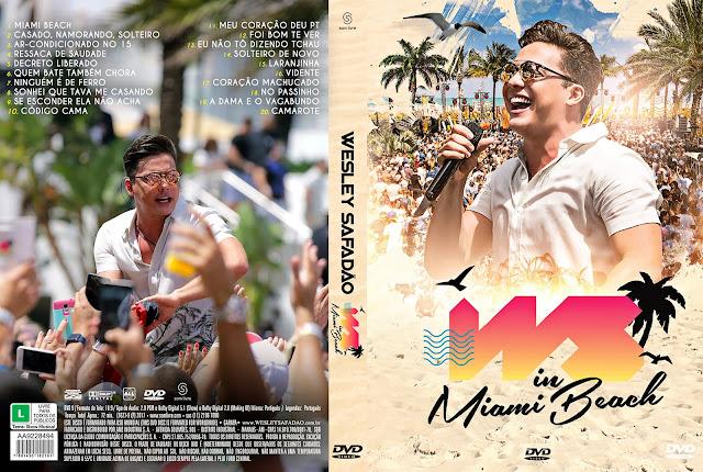 Capa DVD Wesley Safadão WS in Miami Beach