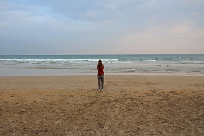 Ela am Strand