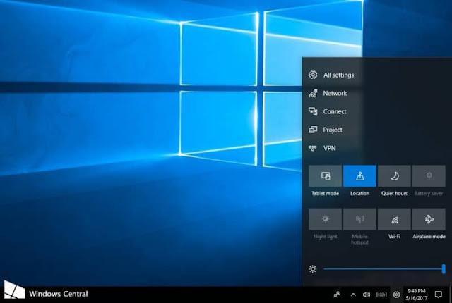Bocor! Fitur Baru yang Bernama Control Center di Windows 10 Berikutnya