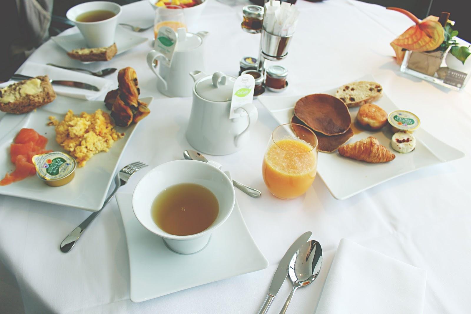 petit déjeuner thalazur
