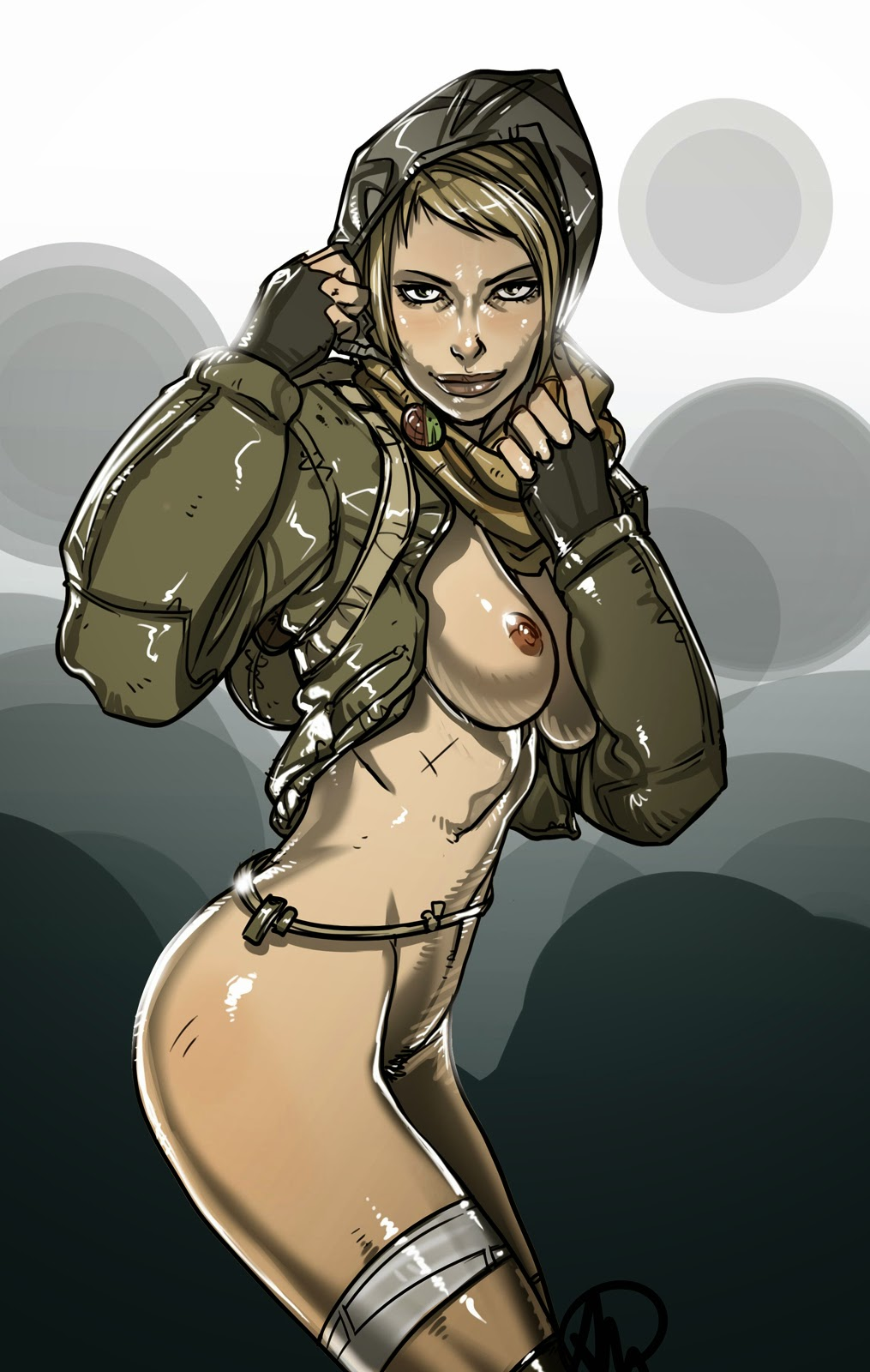 Sexy boobs gogo girl topless table dance vintage 1969 5