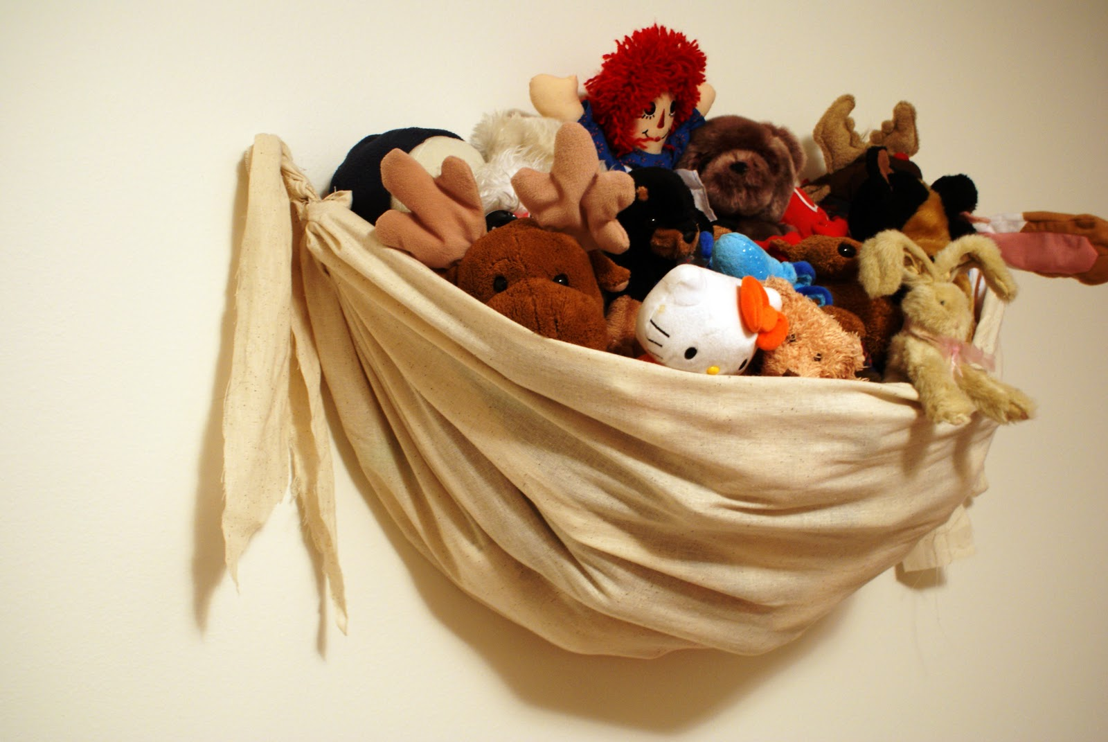 The Better Nester Wall Hanging Stuffed Animal Storage