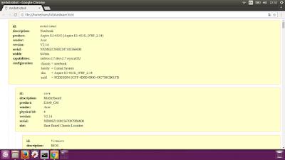 Cek Spesifikasi PC Melalui Terminal Linux
