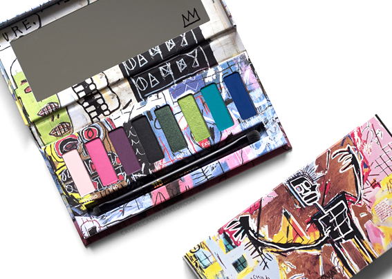 UD Jean-Michel Basquiat Collection Urban Decay Review Tenant Eyeshadow Palette