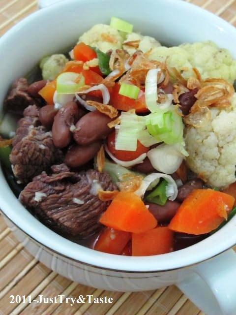Resep Sup Senerek: Sup Kacang Merah, Daging Sapi dan Wortel