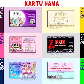 Kartu Nama Desain Pilihan