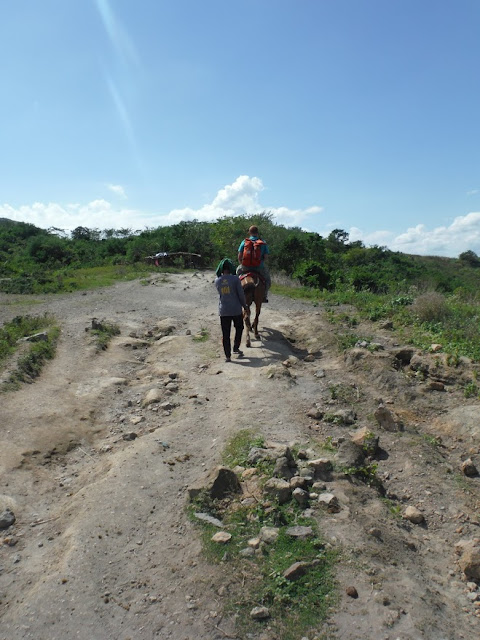 horse ride up taal volcano philippines