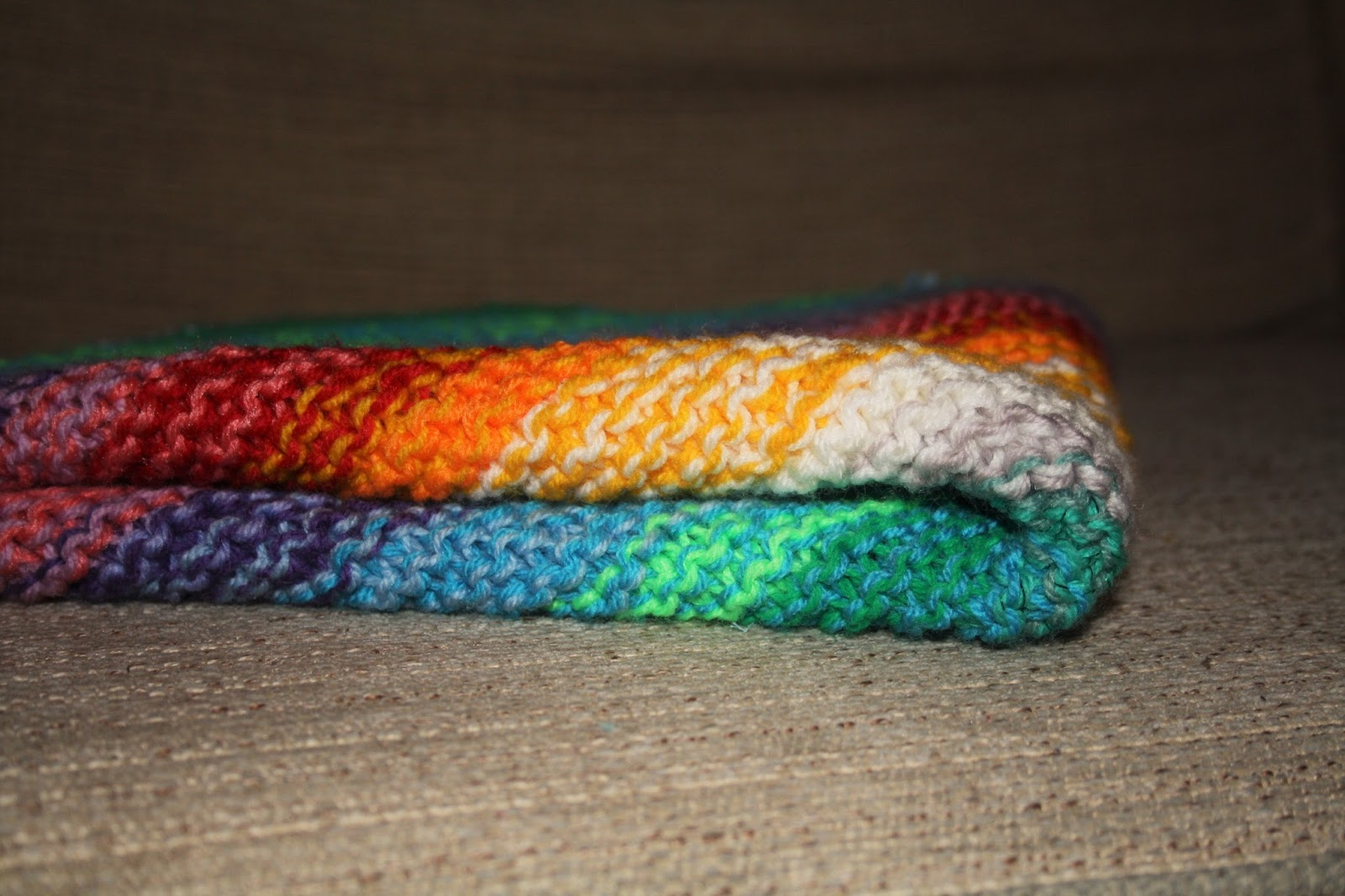 KnitWitsOwls: Knitted Diagonal Baby Blanket - How to!
