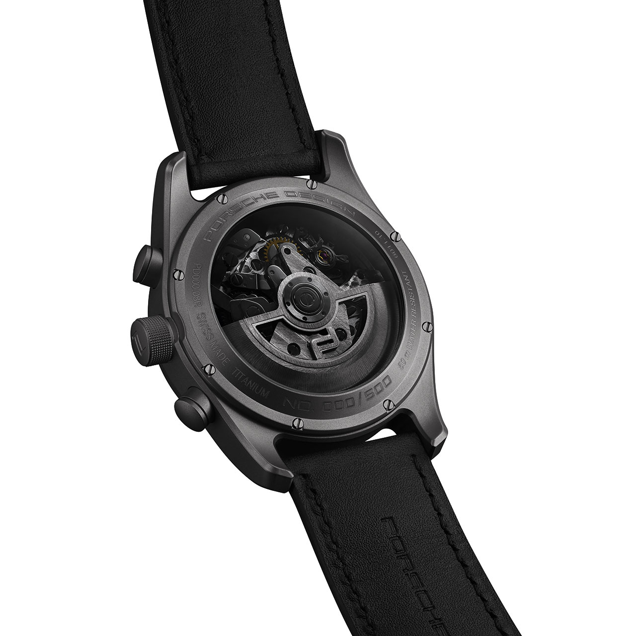 Porsche Design Timepiece Chronograph Titanium Limited Edition back