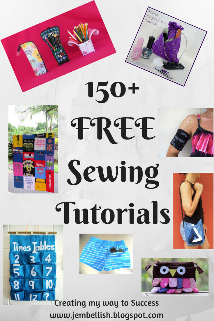 Creating my way to success 150 free sewing tutorials over the years i have produced over 150 sewing tutorials they can all be found here both in blog post form and as free downloadable pdfs baditri Gallery