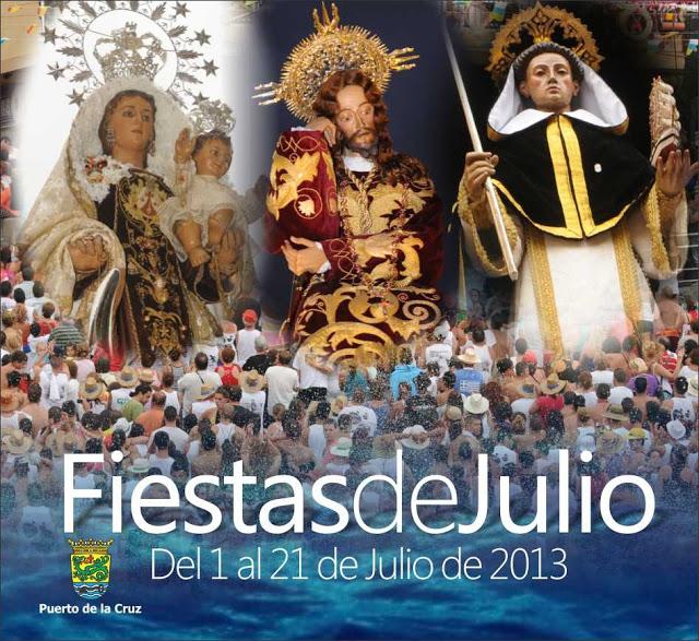 Programa de Fiestas de Puerto de la Cruz Julio de 2013