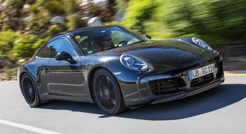 Erlkönig: Neuer Porsche 911 zeigt sich in offiziellen ...