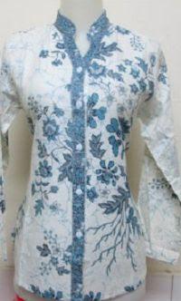 Desain Model Baju Batik Guru