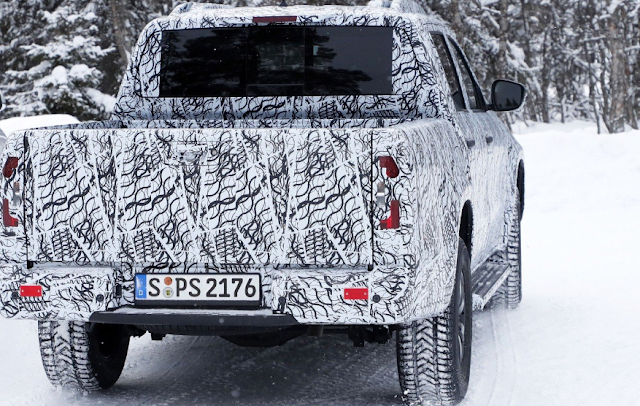 Mercedes X-Class Prototype Spotted