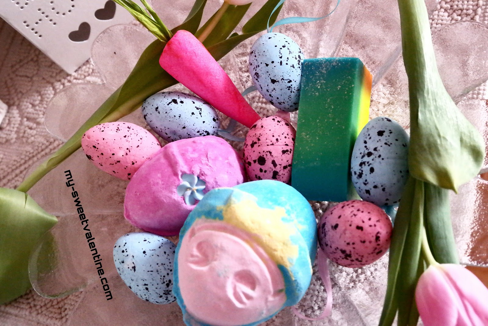 My sweet valentine happy easter at lush if you are stucked for gift ideas lush has lots of easters gifts sets such as the funky bunny or the good egg for a wonderful and cheerful easter negle Image collections