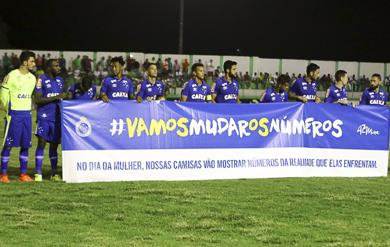 Campanha em confronto contra o Murici (Créditos  Thiago Parmalat Light  Press Cruzeiro) 815c071a22427