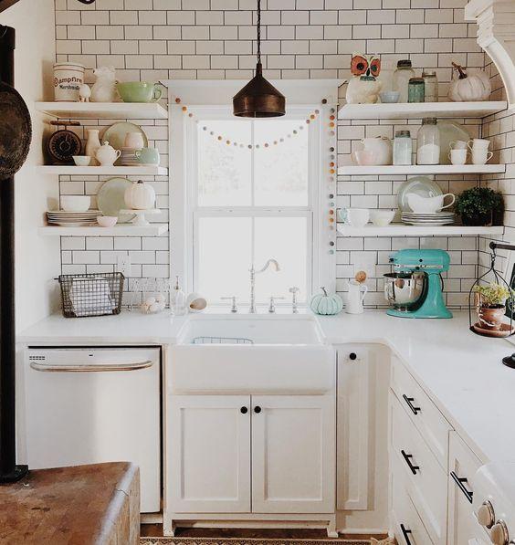 Cosas de palmichula el blanco el todo a la vista for Cocinas vintage modernas