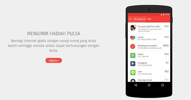 Cara Mendapatkan Pulsa Gratis Untuk Pengguna Android