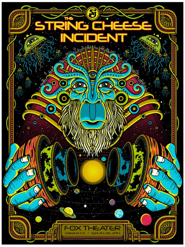 Inside The Rock Poster Frame Blog String Cheese Incident