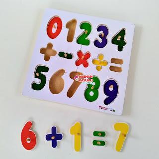 Puzzle Knob Chunky Mainan Kayuku