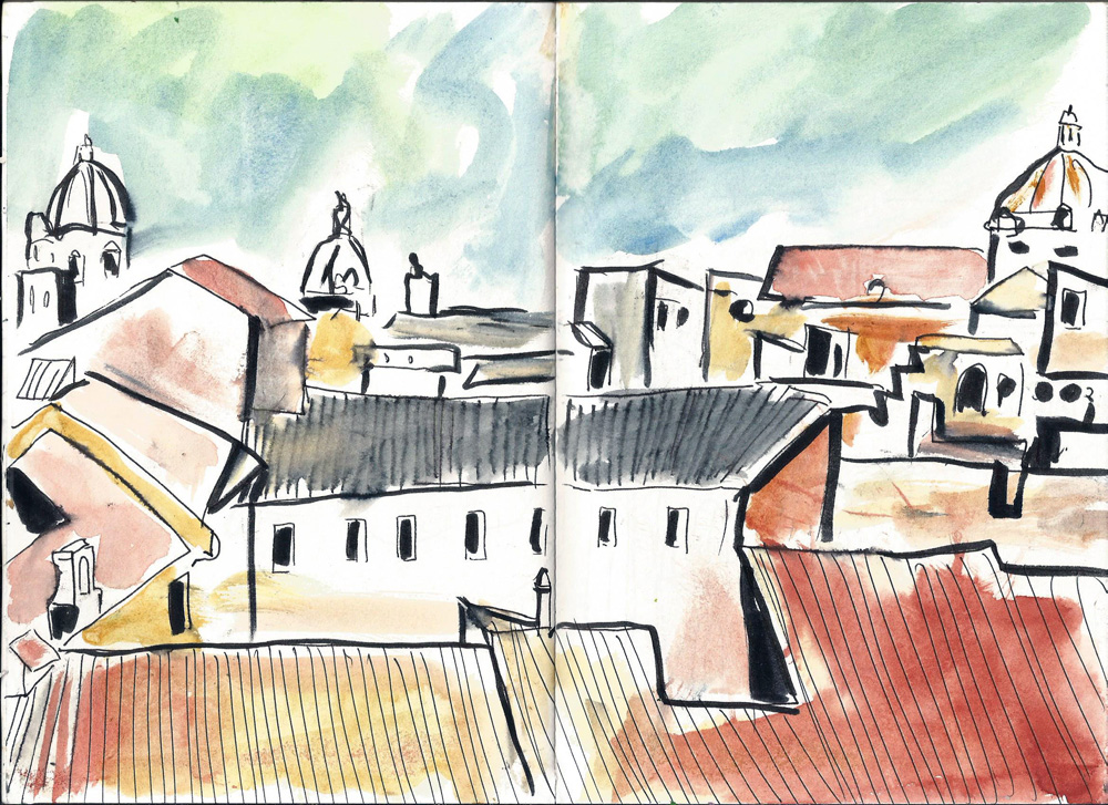 fondonegro tejados romanos