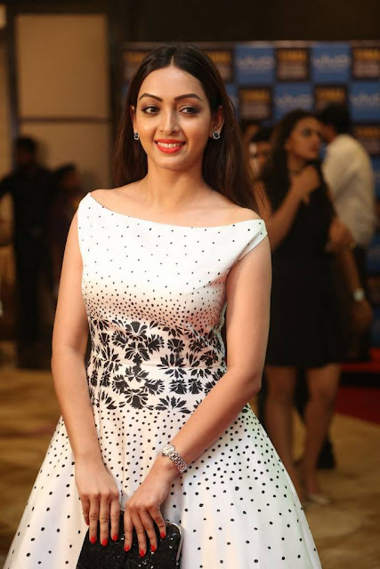 Pooja Salvi Stills At SIIMA Short Film Awards 2017