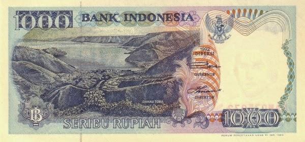 Rp1.000 tahun 1992
