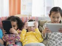 Anak-anak dalam Penggunaan Gadget