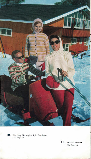 The Vintage Pattern Files: Free 1960s Knitting Pattern - Ski Knits No.3 by Villawood