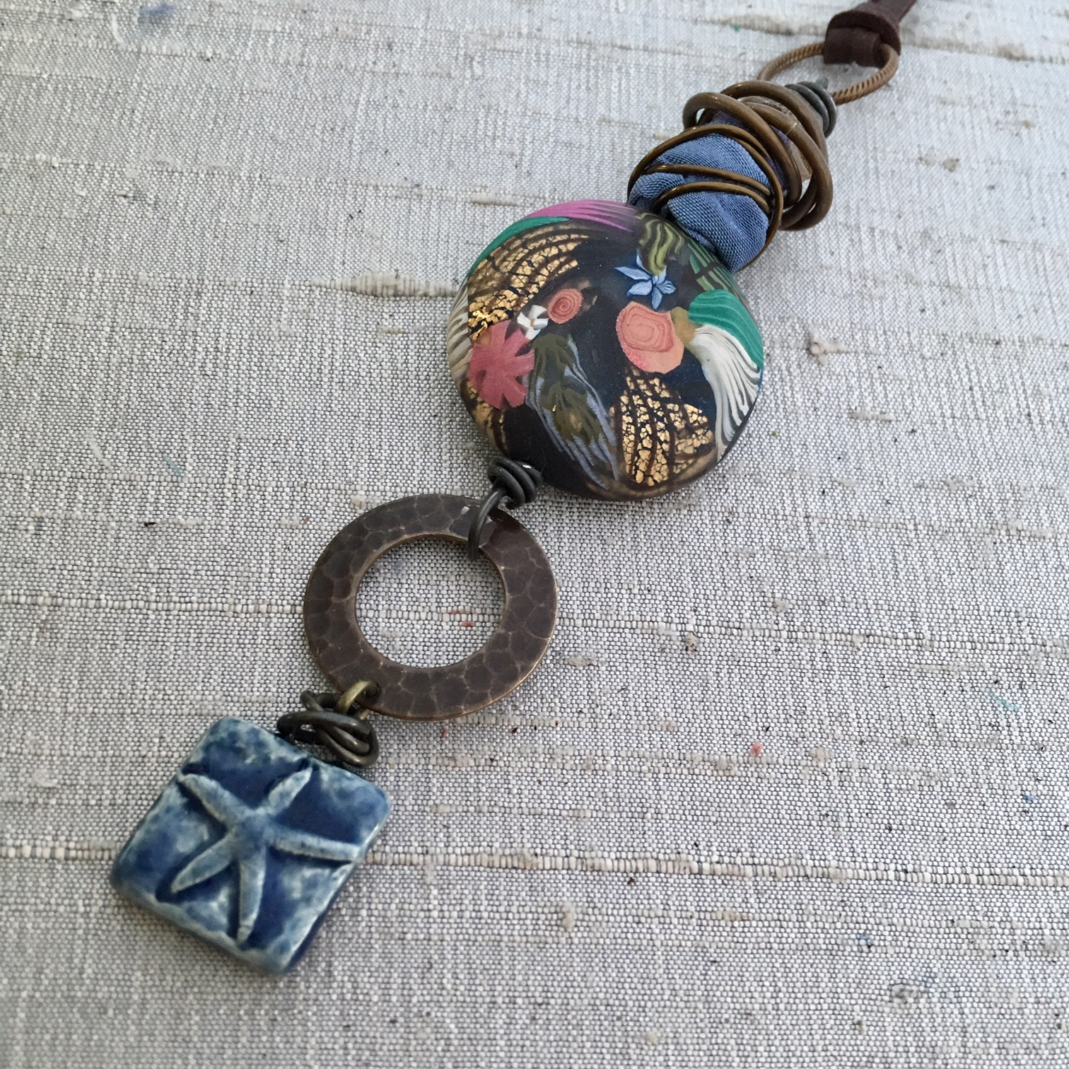 Bead Table Wednesday – Silk & Wire Beads – Art Bead Scene Studio