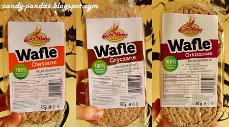 Wafle gryczane/owsiane/orkiszowe pełnoziarniste - Euro wafel