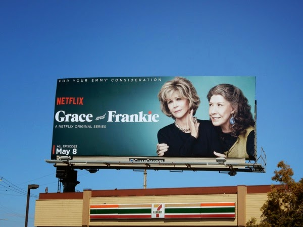 Grace and Frankie series premiere billboard
