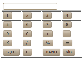 Simple Calculator in Javascript Code with Working Example ( +