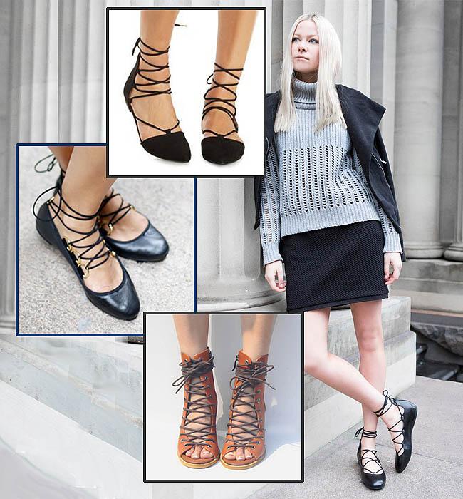 Model sepatu untuk kaki besar