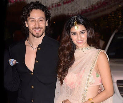 Disha Patani with Tiger Shroff